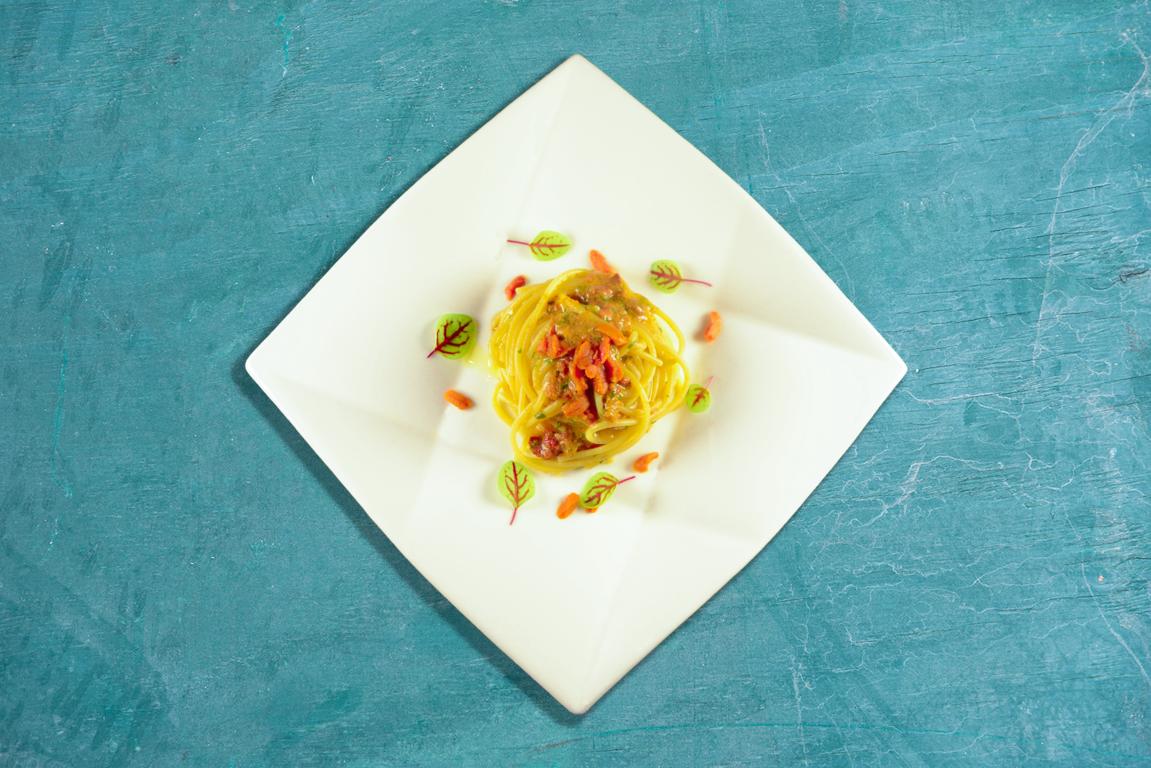 Primo Spaghetti Ricci - Ristorante Mama Andria